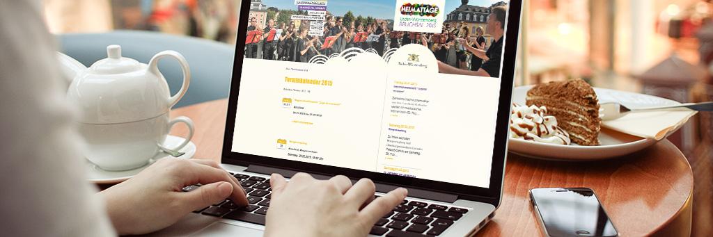 Heimattage Baden-Württenmberg Bruchsal Internet Website