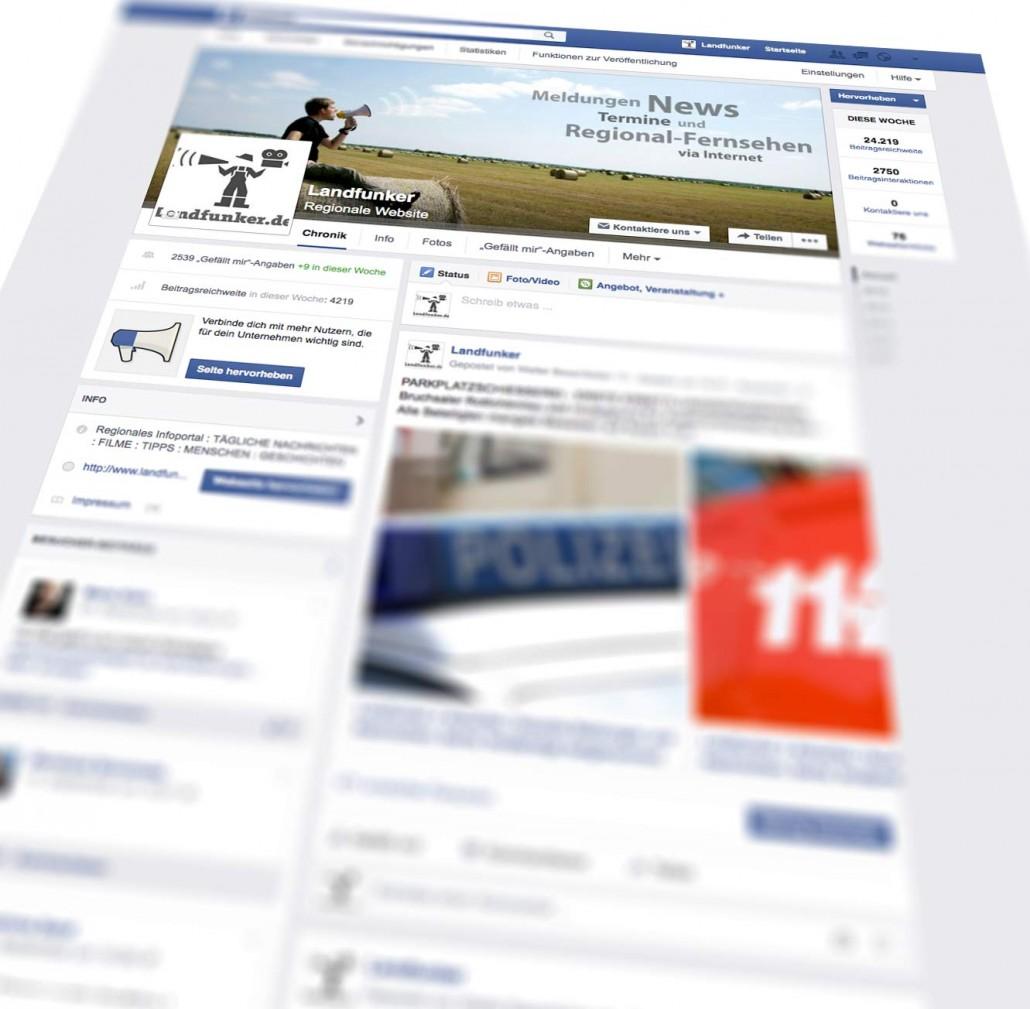 Landfunker Facebookseite