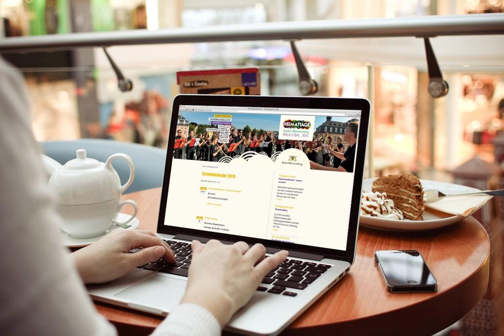 Heimattage Baden-Württemberg Website
