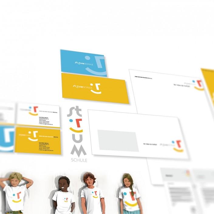 Logodesign für eine Schule
