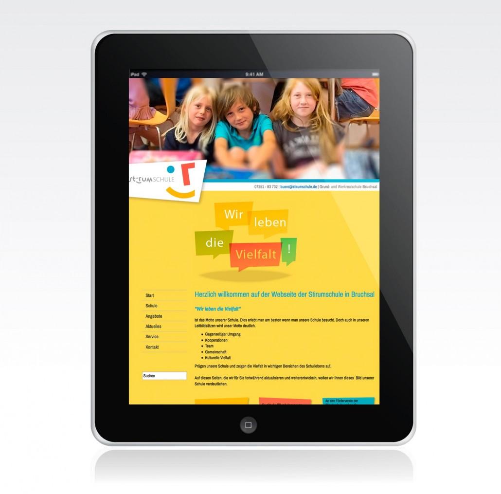 Logodesign für eine Schule Website
