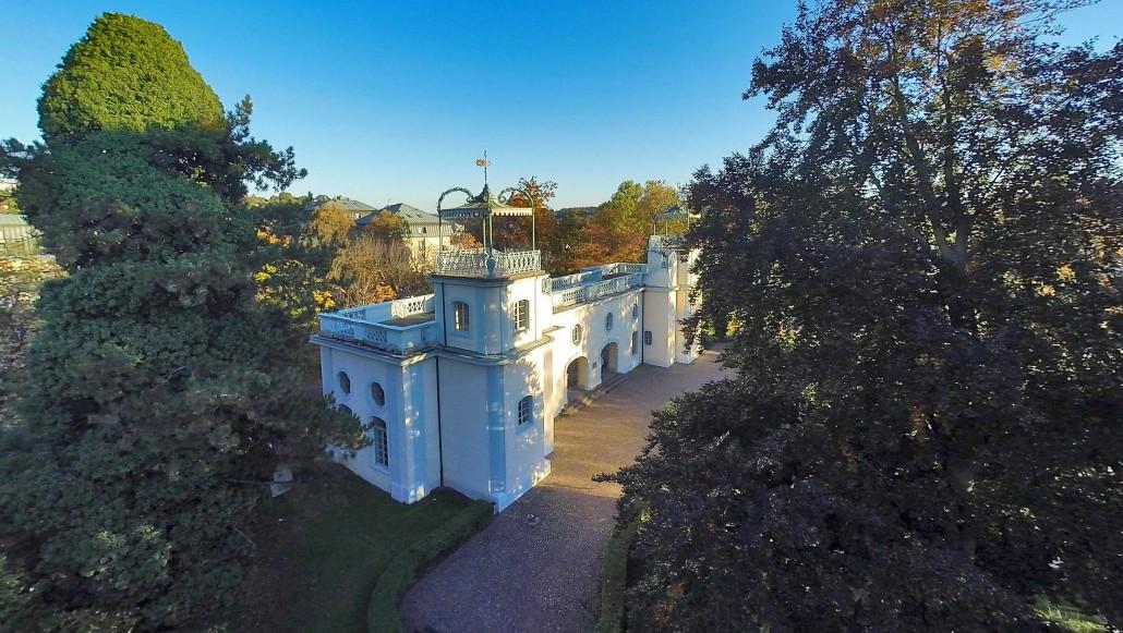 Luftbild Bruchsal Belvedere