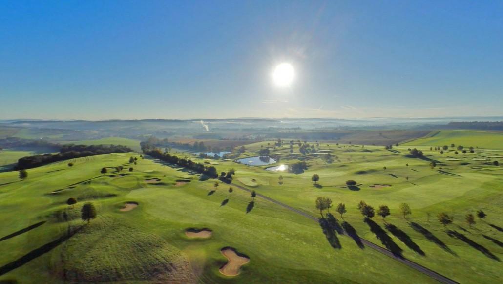 Luftbild Bruchsal Golfplatz
