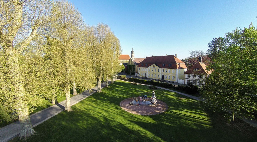 Luftbild Eichtersheim Schlosspark