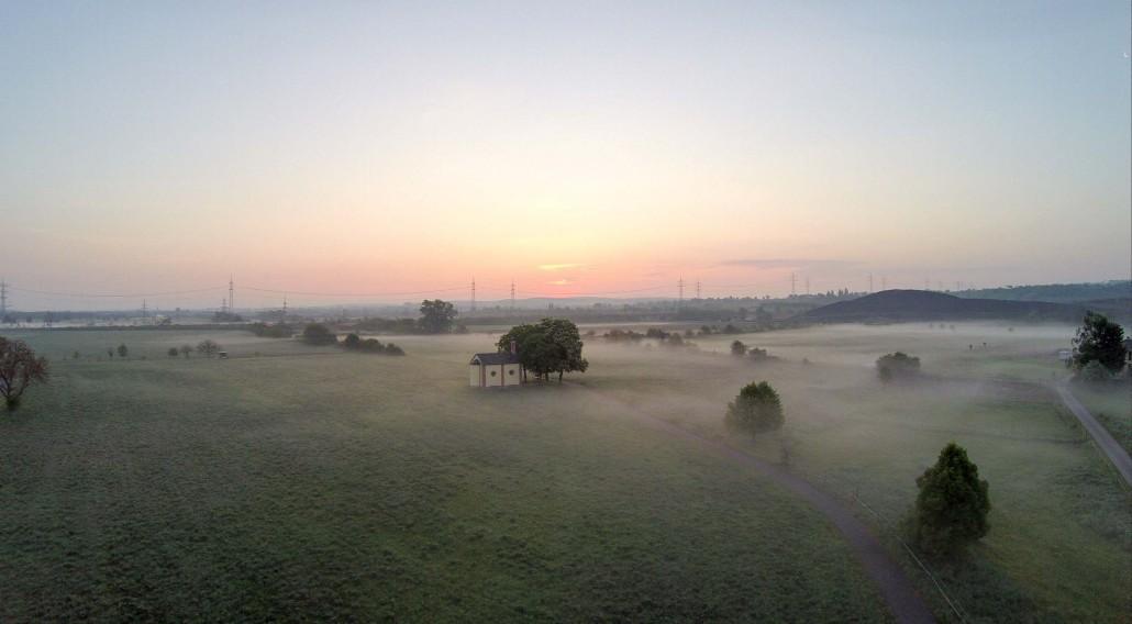 Luftbild Forst Wiesenkapelle
