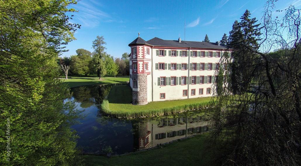 Luftbild Angelbachtal Schloss