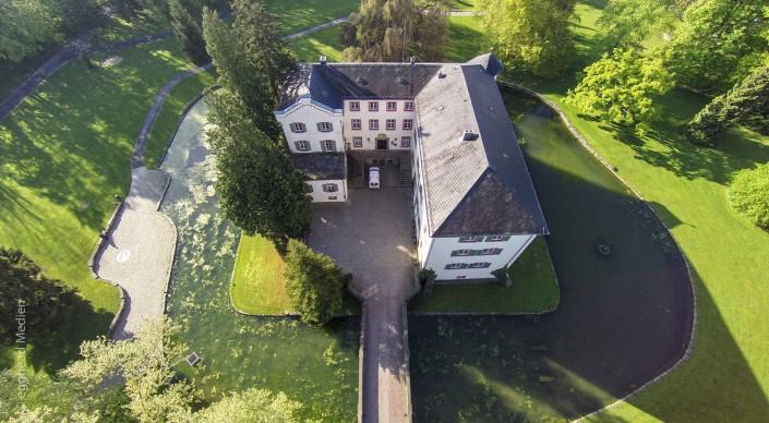 Luftbild Angelbachtal-Wasserschloss