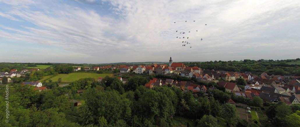Luftbild Gochsheim Voegel Schloss