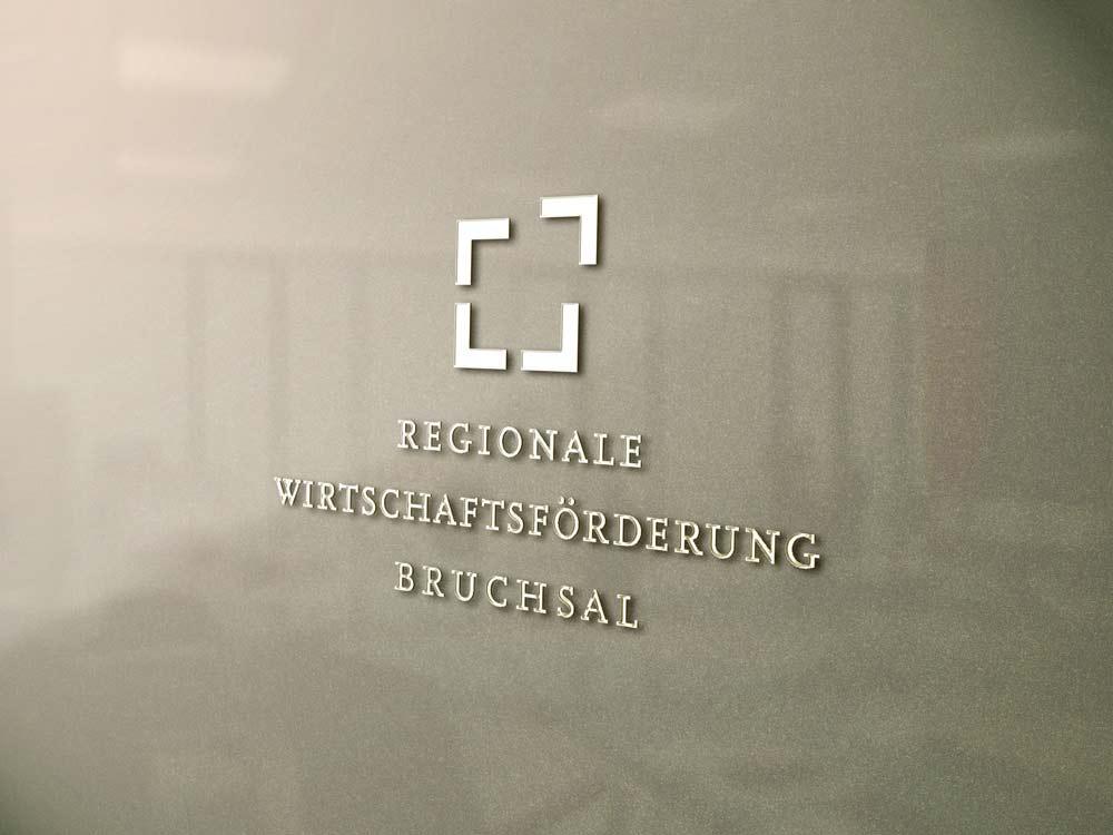 Logo Regionale Wirtschaftsförderung Bruchsal