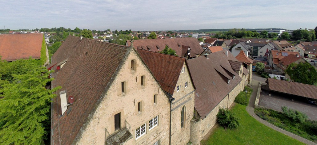 Luftbild Oberderdingen Amthof