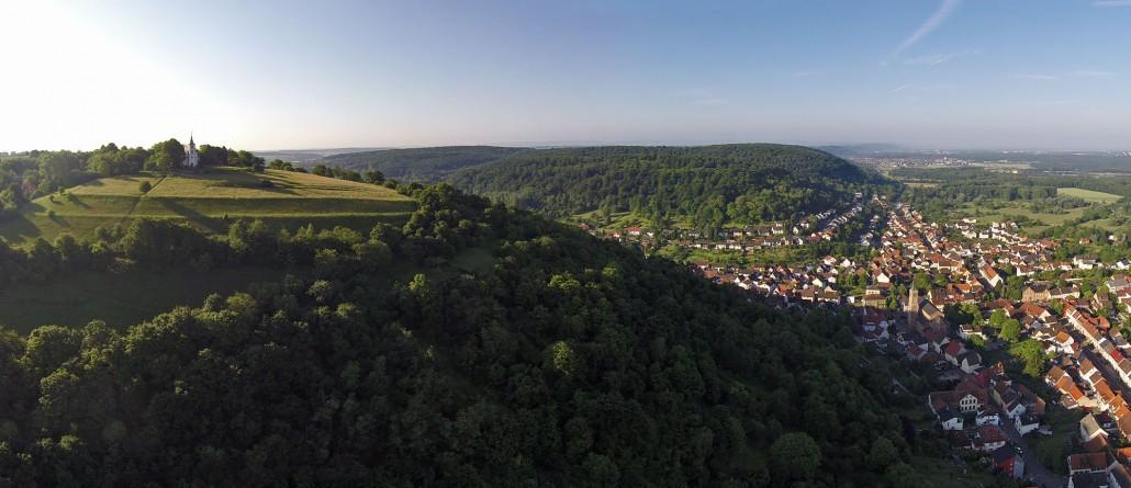 Luftbild Michalesberg