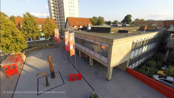 Luftbild Sinsheim Sparkasse