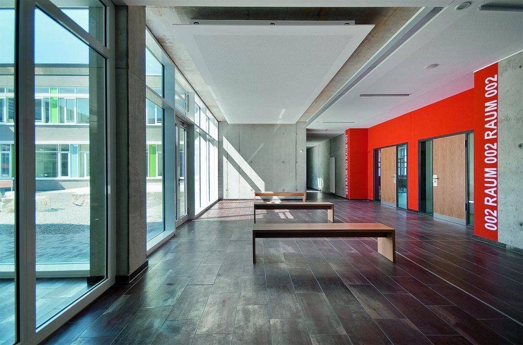 Joß-Fritz-Schule, Untergrombach, Prospekt zur Architektur