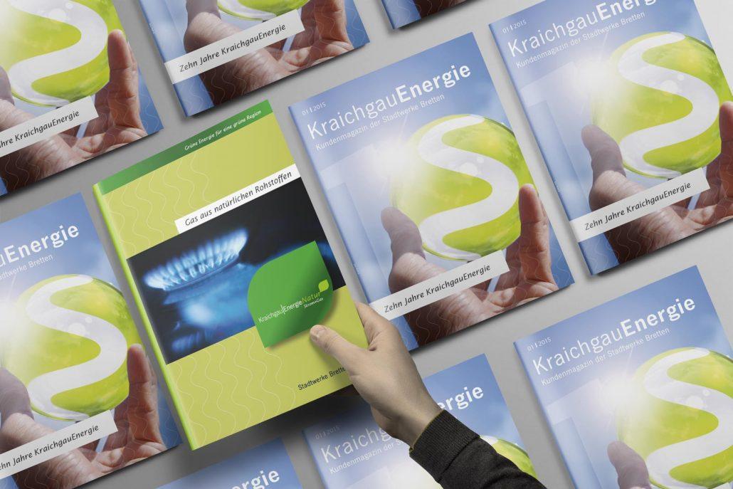 Kraichgau Energie Natur Kundenmagazin Titel
