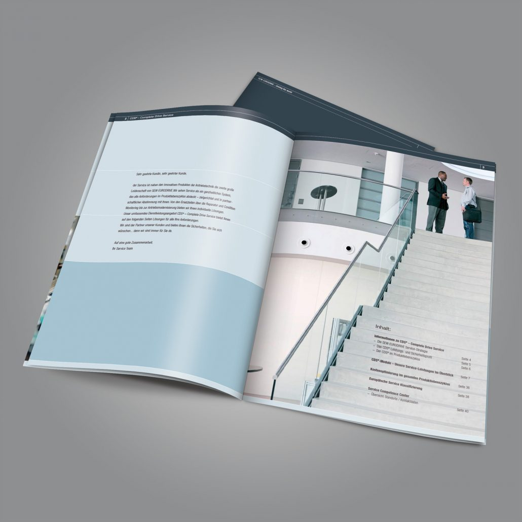 Imagebroschüre DriveAcademy SEW-EURODRIVE