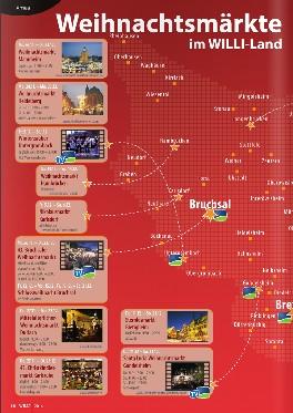 WILLI Weihnachtsmärkte in der Region
