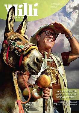 Beispiel-Titelseite Stadtmagazin WILLI
