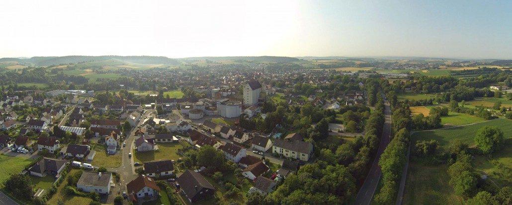 Luftbild Panorama Heidelsheim