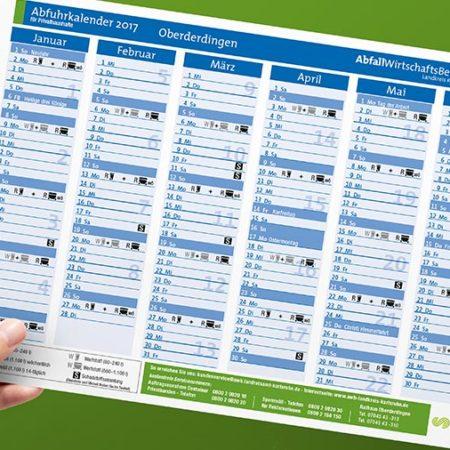 AWB Abfuhrkalender