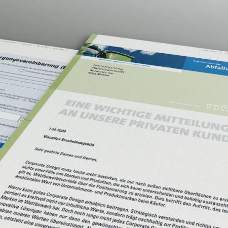 AbfallWirtschaftsBetrieb Infoblatt und Formular