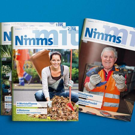 AbfallWirtschaftsBetrieb Kundenmagazin Nimms mit