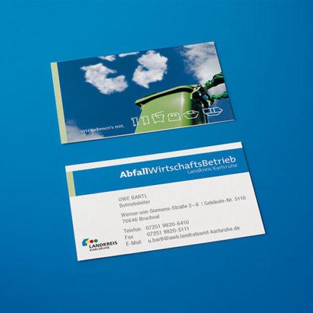 AbfallWirtschaftsBetrieb Visitenkarte