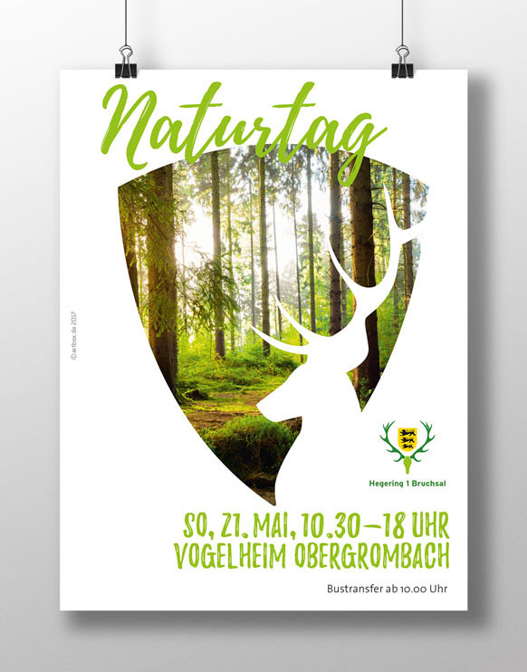 Hegering Naturtag Plakat