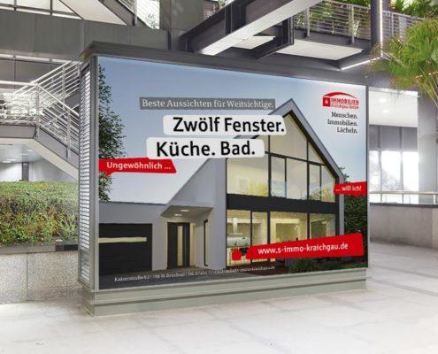 Sparkassen Immobilien Plakat Großfläche
