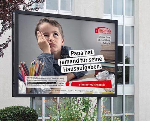 Sparkassen Immobilien Plakat