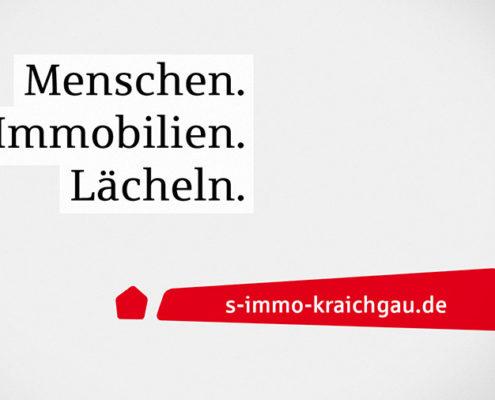 Anzeigenkampagne S-Immo Kraichgau Plakat