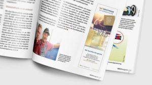 Die Badgestalter Anzeige im HAUSmagazin