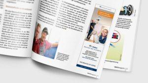 Meister der Elemente Anzeige im HAUSmagazin