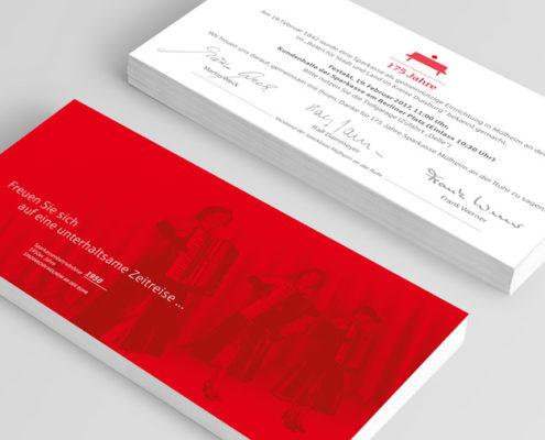 Sparkasse Mühlheim an der Ruhr Einladungskarte