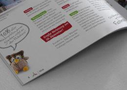 Einblicke in das Kundenmagazin SchlApo Eulalia kommentiert