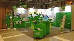 AOK Messestand
