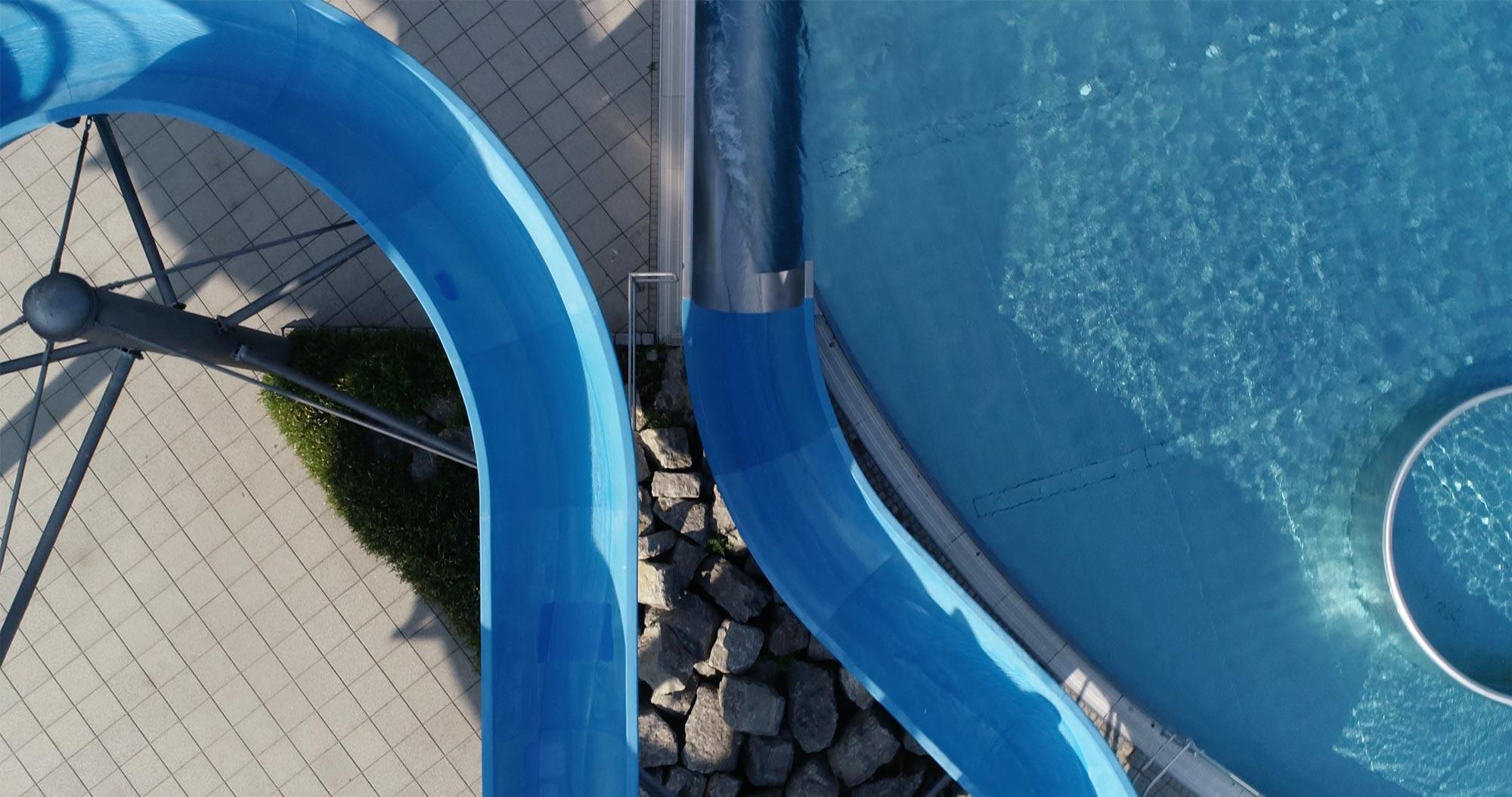 Wasserrutschen